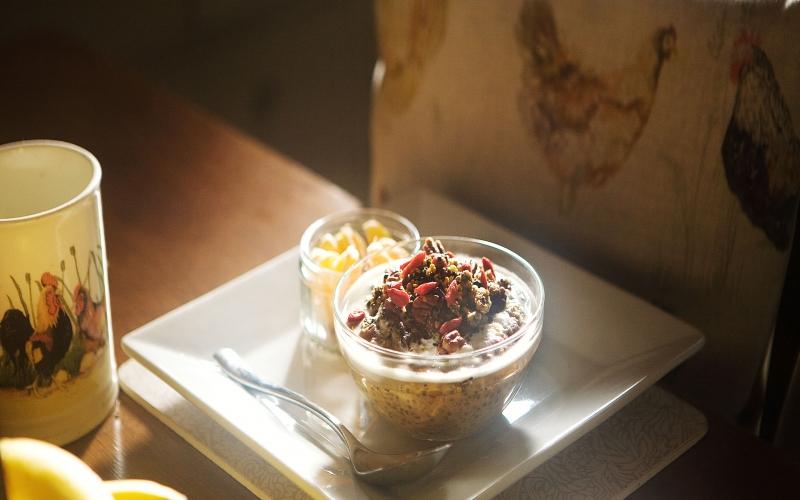 Winter Warming Sweet Potato Porridge
