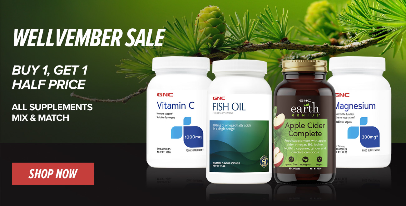 SAVE MORE WITH GNC