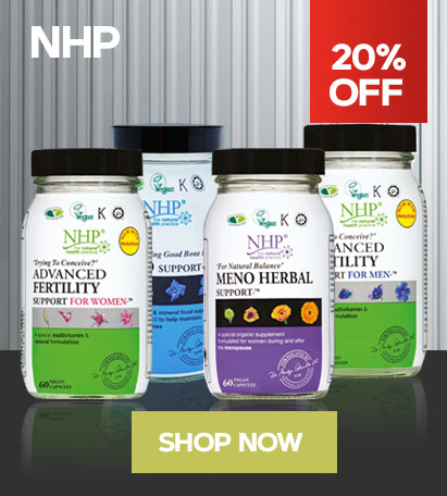 20% OFF SELECT NHP™ ITEMS